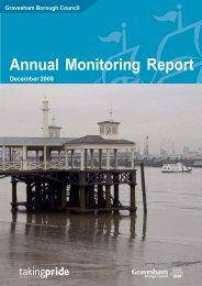 Annual Monitoring Report 2008 - Gravesham Borough Council