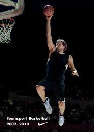 Teamsport Basketball 2009 - 2010 - Sporttrikot