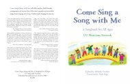 Come Sing a Song with Me - Unitarian Universalist Association