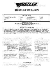 377 Talon Standard - Funboats