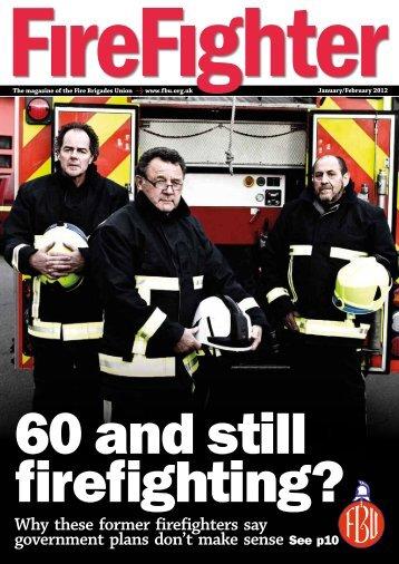 Firefighter - Fire Brigades Union