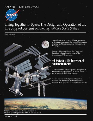 living together in space: the design and operation of the life support ...