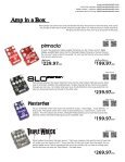 USD - Wampler Pedals - Page 6