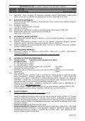 bezpečnostní list - Novato - Page 3