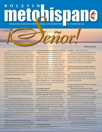 PUBLICACION DE LOS MINISTERIOS HISPANOS DE FLORIDA ...