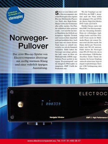 Norweger- Pullover - Electrocompaniet