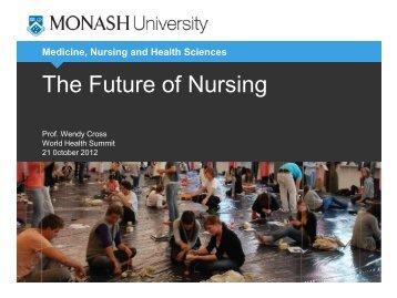 The Future of Nursing - World Health Summit