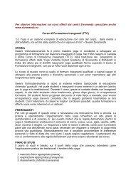 Corso di Formazione Insegnanti (TTC) - Sivananda Yoga Firenze