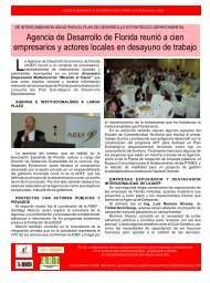 Gacetilla de Prensa Nº 15 - ADEF
