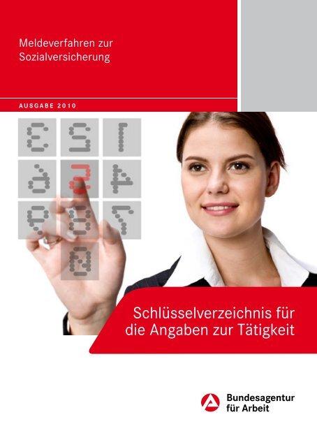 Schlüsselverzeichnis 2010 - Bundesagentur für Arbeit