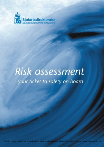 Risk assessment - Martin's Marine Engineering Page