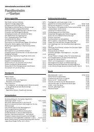 Jahresinhaltsverzeichnis 2006