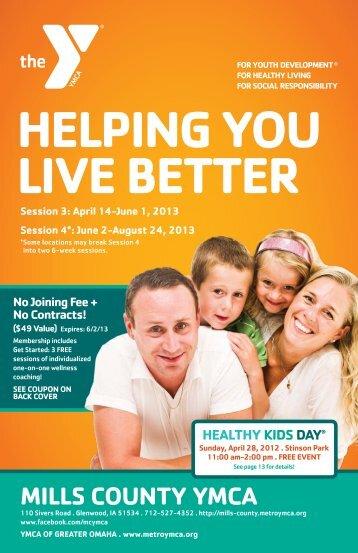 View pdf - Mills County YMCA