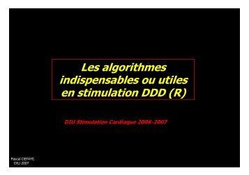 Capteurs et algorithmes