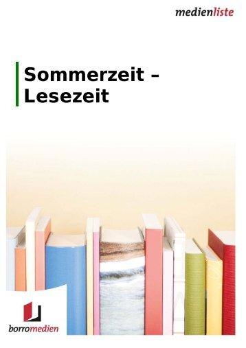 Sommerzeit – Lesezeit - medienprofile.de