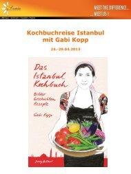 Kochbuchreise Istanbul mit Gabi Kopp - Lamia Congress & Event ...
