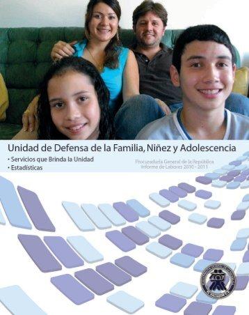 unidad de defensa de la familia, niñez y adolescencia.