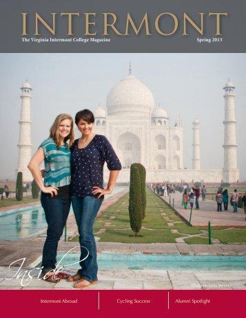 The Virginia Intermont College Magazine Spring 2013