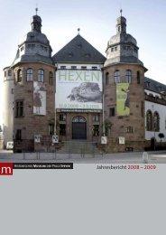 Jahresbericht 2008 – 2009 - Historisches Museum der Pfalz Speyer