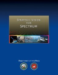 spectru m spectrum - Department of Navy Chief Information Officer