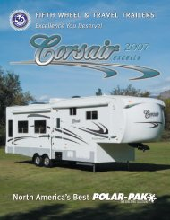 2007 Corsair Exella Brochure - Rvguidebook.com