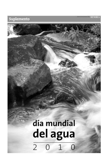día mundial del agua - Menorca.info