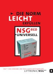 DiE NoRM - Swiss Lift Electronic AG
