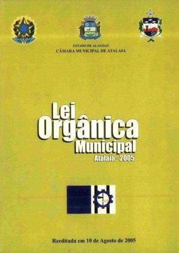 Lei Orgânica Municipal - Advise
