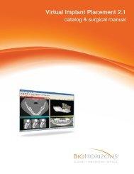Virtual Implant Placement 2.1 - BioHorizons