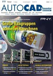 Leseprobe AUTOCAD & Inventor Magazin 2013/03
