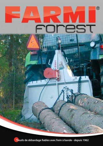 Treuils de débardage fiables avec frein à bande ... - Farmi Forest