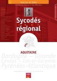 AQC - Observatoire Sycodés Aquitaine - Agence Qualité Construction