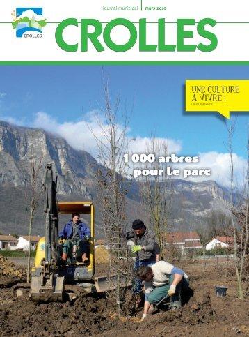 journal Mars 2010 - Ville de Crolles