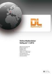 Online-Mediendaten Gültig ab 1.1.2012 - IDG Communications