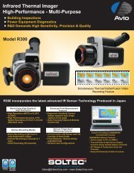 Infrared Thermal Imager High-Performance - Multi-Purpose - soltec