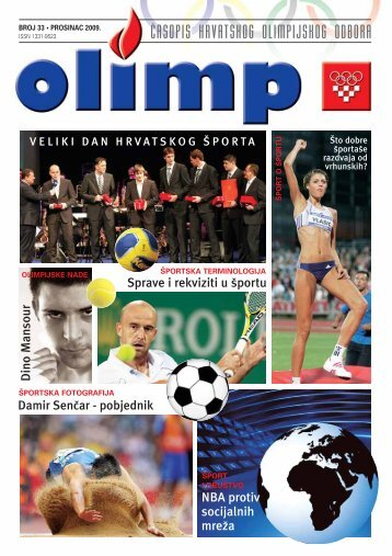 asopis hrvatskog olimpijskog odbora - Hrvatski Olimpijski Odbor