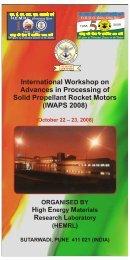 IWAPS 2008 - DRDO