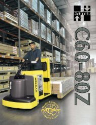 Performance designed to match your changing ... - Hyster Company