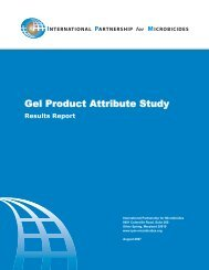 Final Study Report - International Partnership For Microbicides