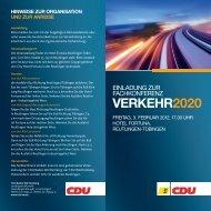 VERKEHR2020 - CDU Baden-Württemberg