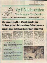 Gedruckte Ausgabe im pdf-Format - VgT