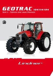 GEOTRAC 104/114/124 - Lindner Traktoren
