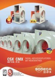 CSX CMX - Sodeca
