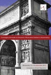 Programma Generale - Automatica.it 2012