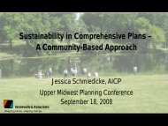 Sustainability in Comprehensive Plans - American Planning ...