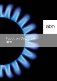 Focus on Dutch gas - EBN