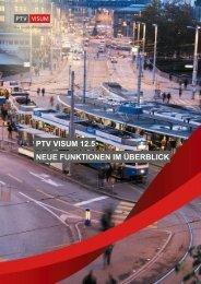 PTV Visum 12.5 - Neue Funktionen im Überblick