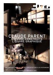 CLAUDE PARENT - Cité de l'architecture & du patrimoine