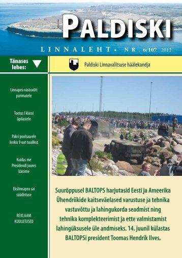 6/107 29.06.2012 - Paldiski Linnavalitsus