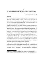 César Alexandre dos Santos Introdução - Rede de Estudos do ...